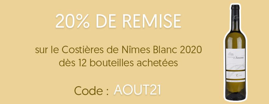-30% Costières de Nîmes Rosé
